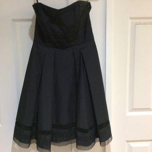 Black strapless Dress White House Black Market 0